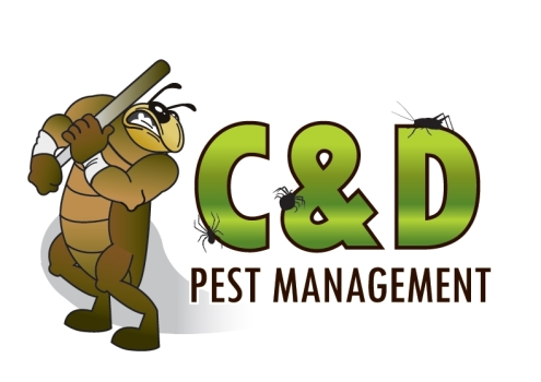 C and D Pest Logo